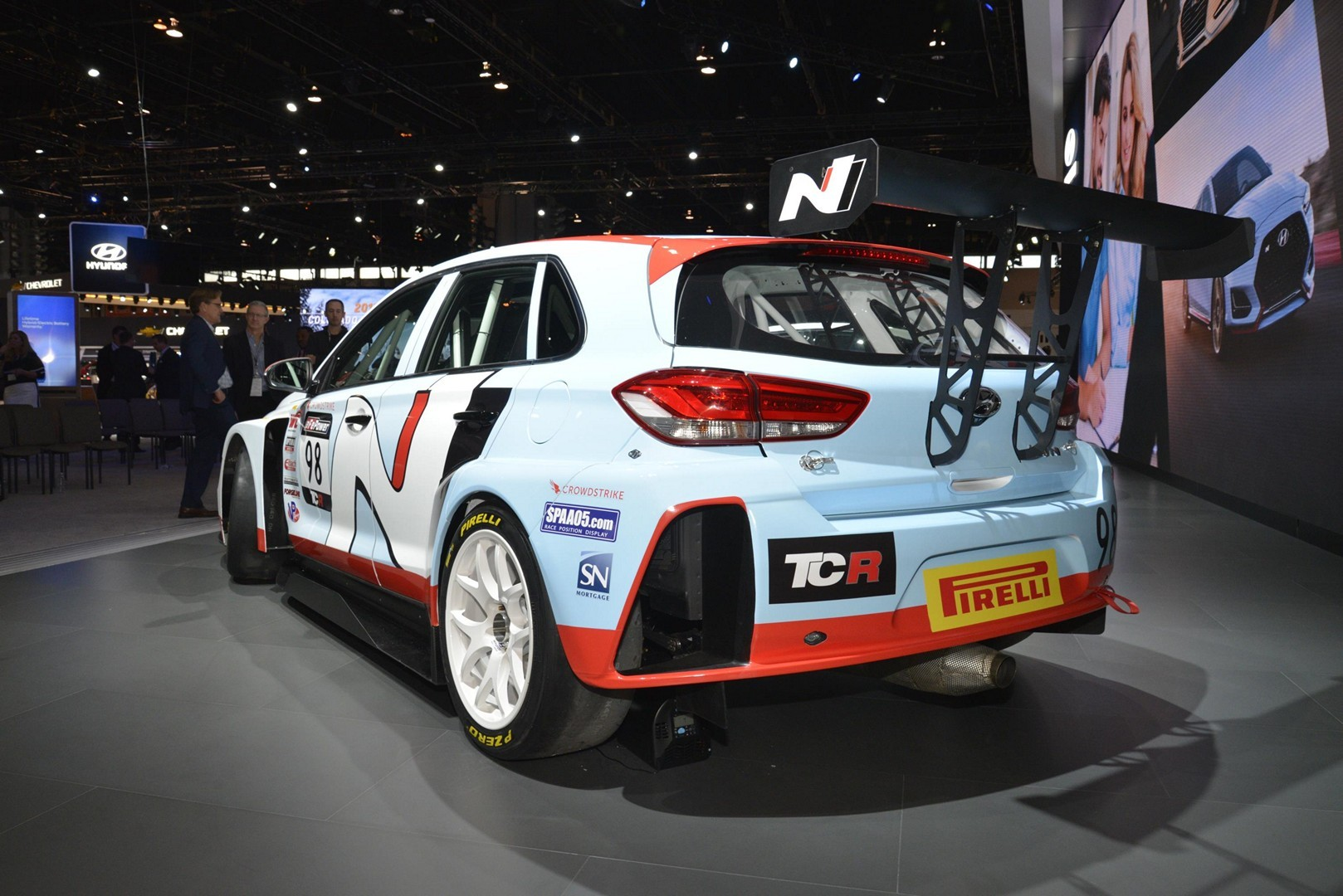 Hyundai Veloster N And I30 N Tcr Show Up In Chicago