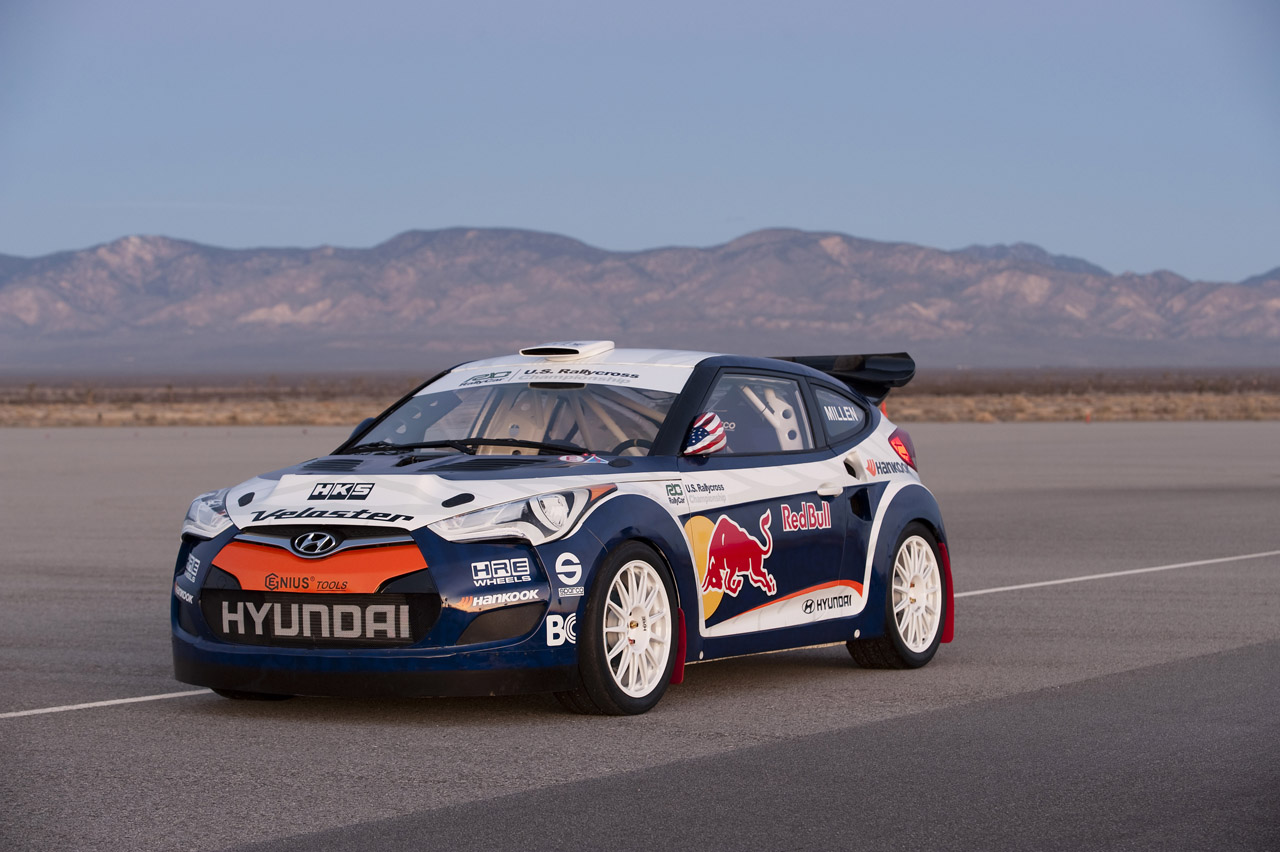 Hyundai veloster rally car by rhys millen racing