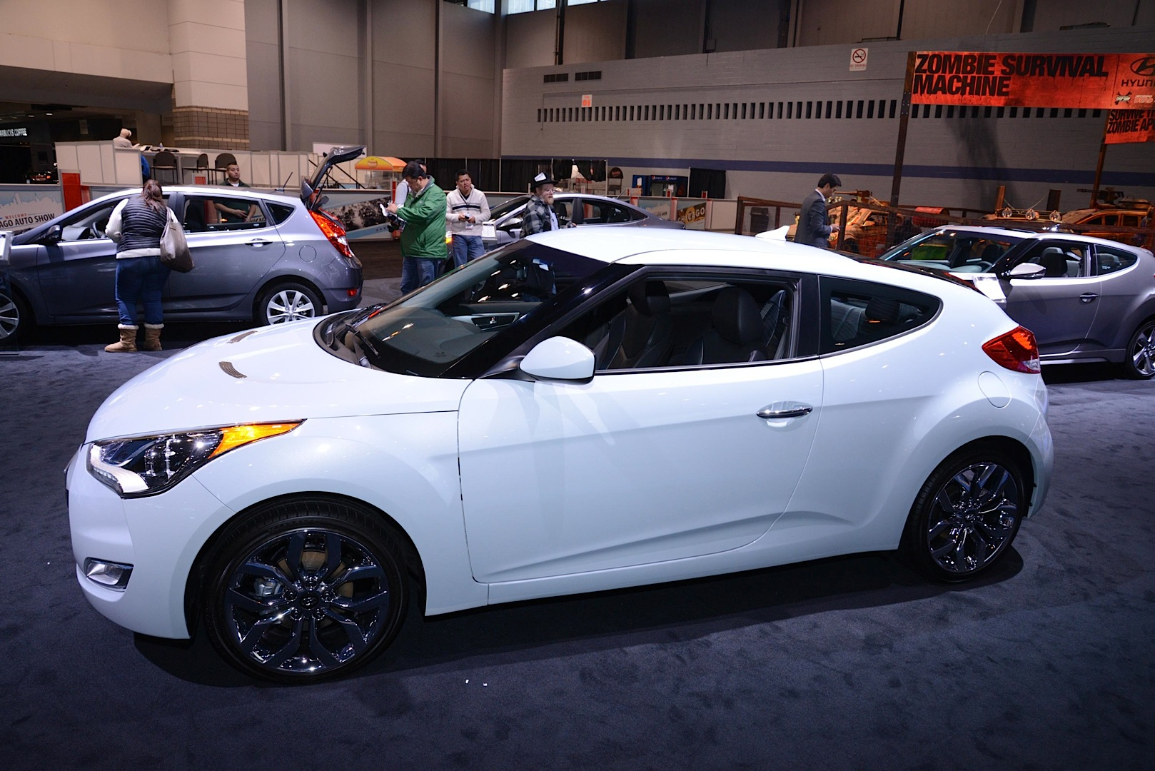 Hyundai Veloster Re Flex Edition Revealed In Chicago Live