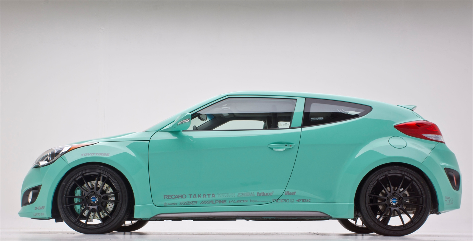 Hyundai Veloster Turbo Jp Edition Concept At 2012 Sema