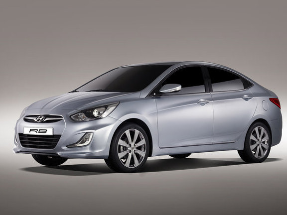 Hyundai Accent Rb Tuning >> Hyundai Verna RB Concept Shown in Moscow - autoevolution
