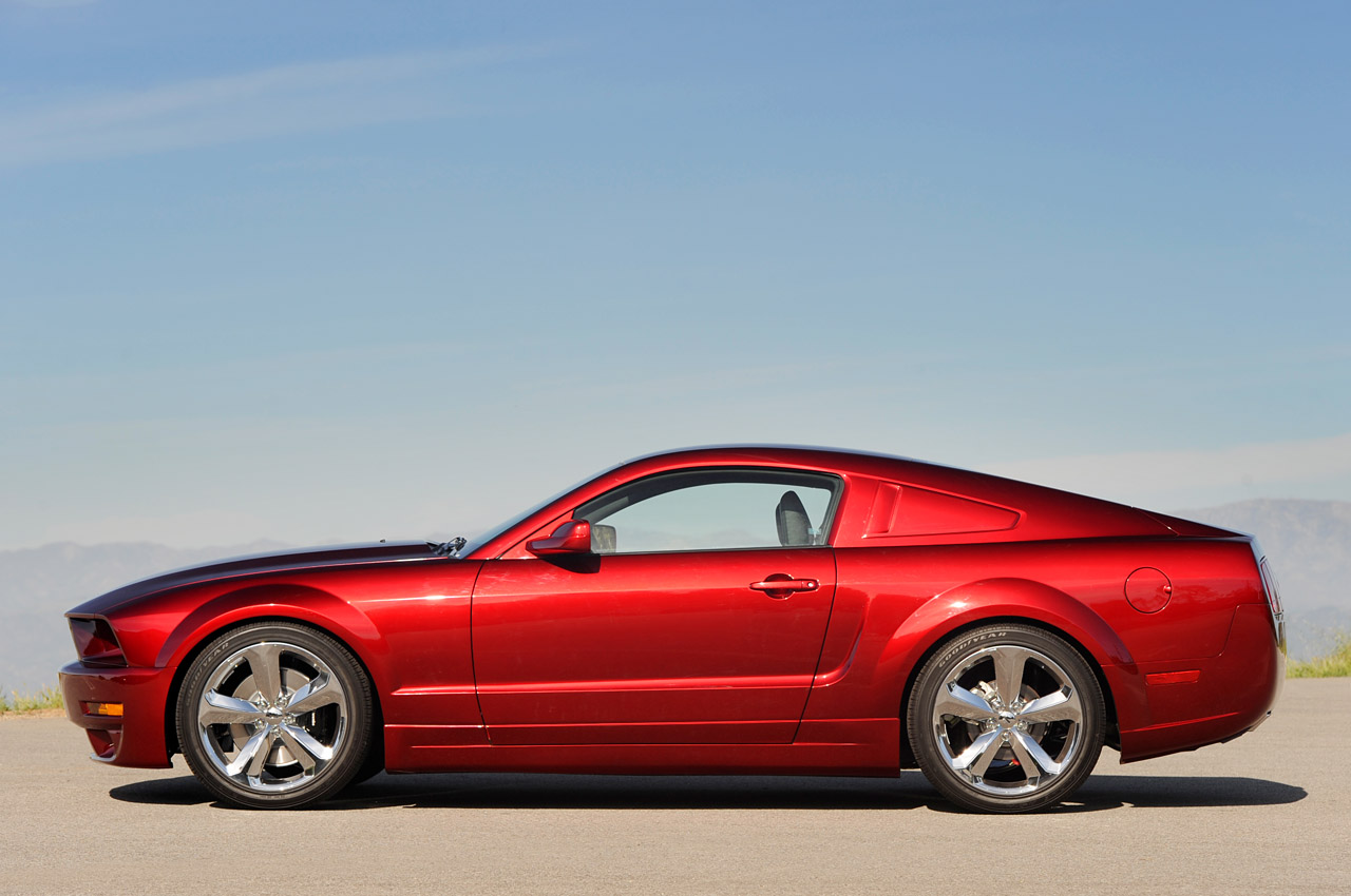 Iacocca 45th Anniversary Edition Mustang Also Comes In Red