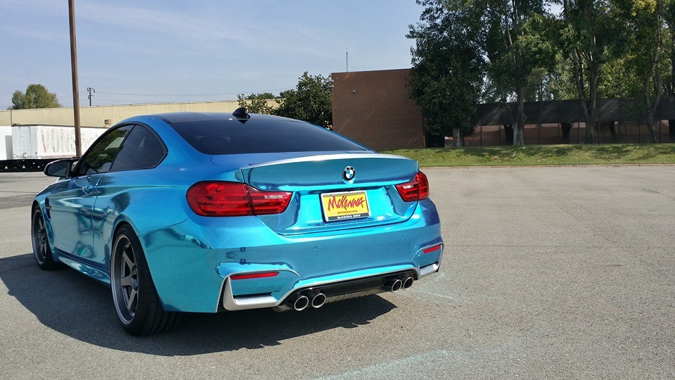 Ice Blue Chrome BMW M4 Is Not for Anyone - autoevolution