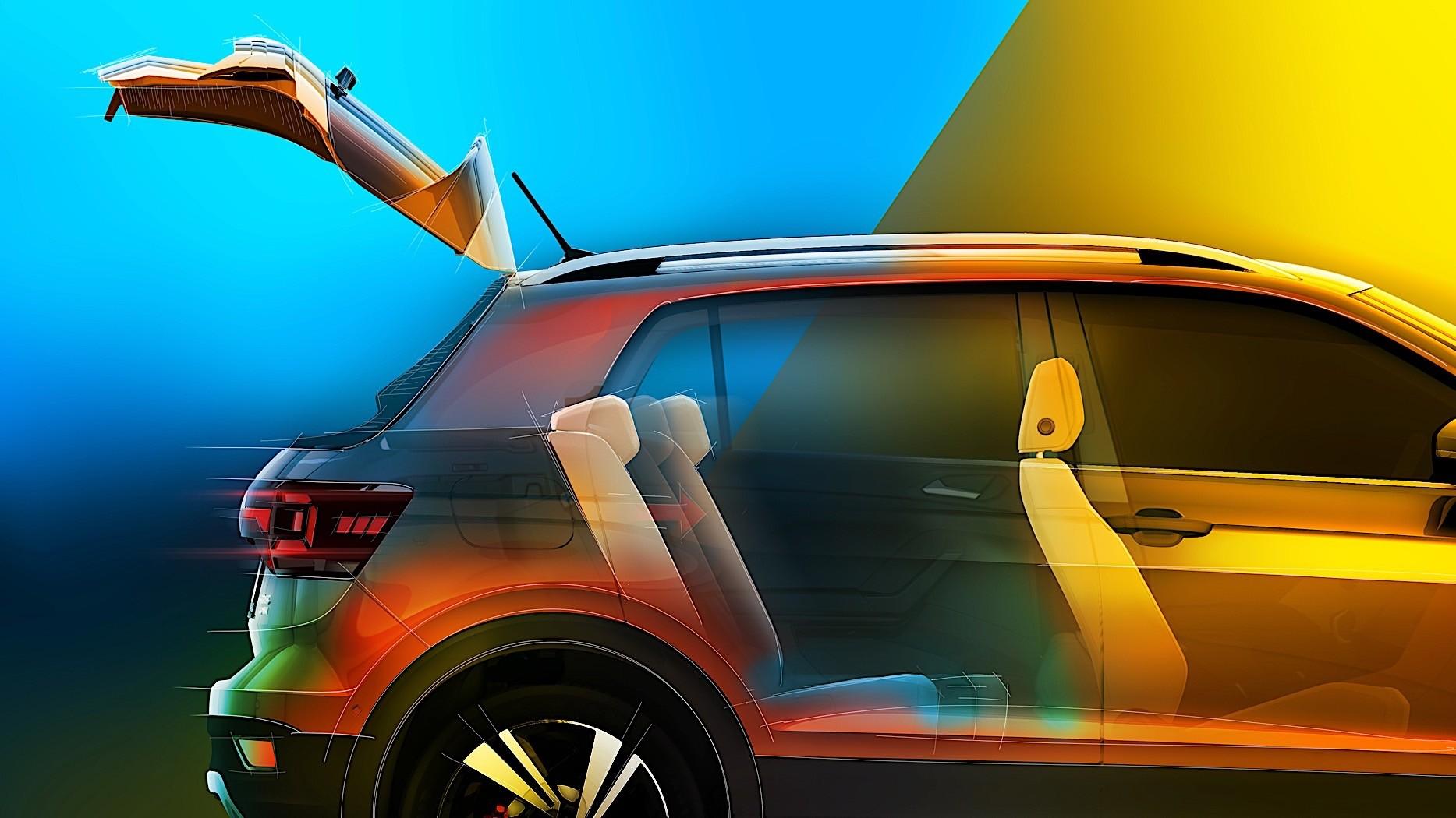 Volkswagen T Cross Launch Date In India >> Ice Hockey Players Test Volkswagen T-Cross Cargo Volume - autoevolution