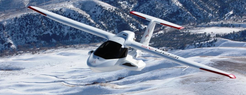 ICON A5 Amphibious Aircraft Has Automative Lotus Interior