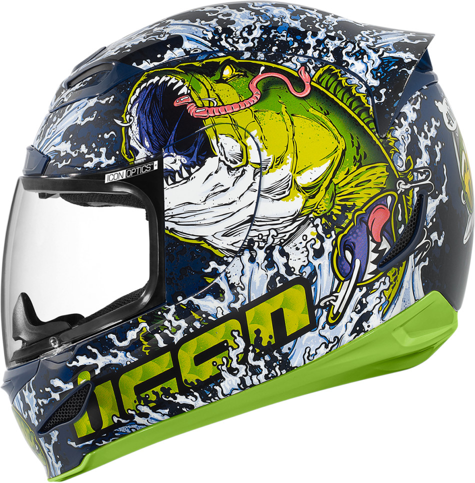 Nu Way Auto >> Icon Airmada Bass-Tard Helmet Looks Sexy - autoevolution