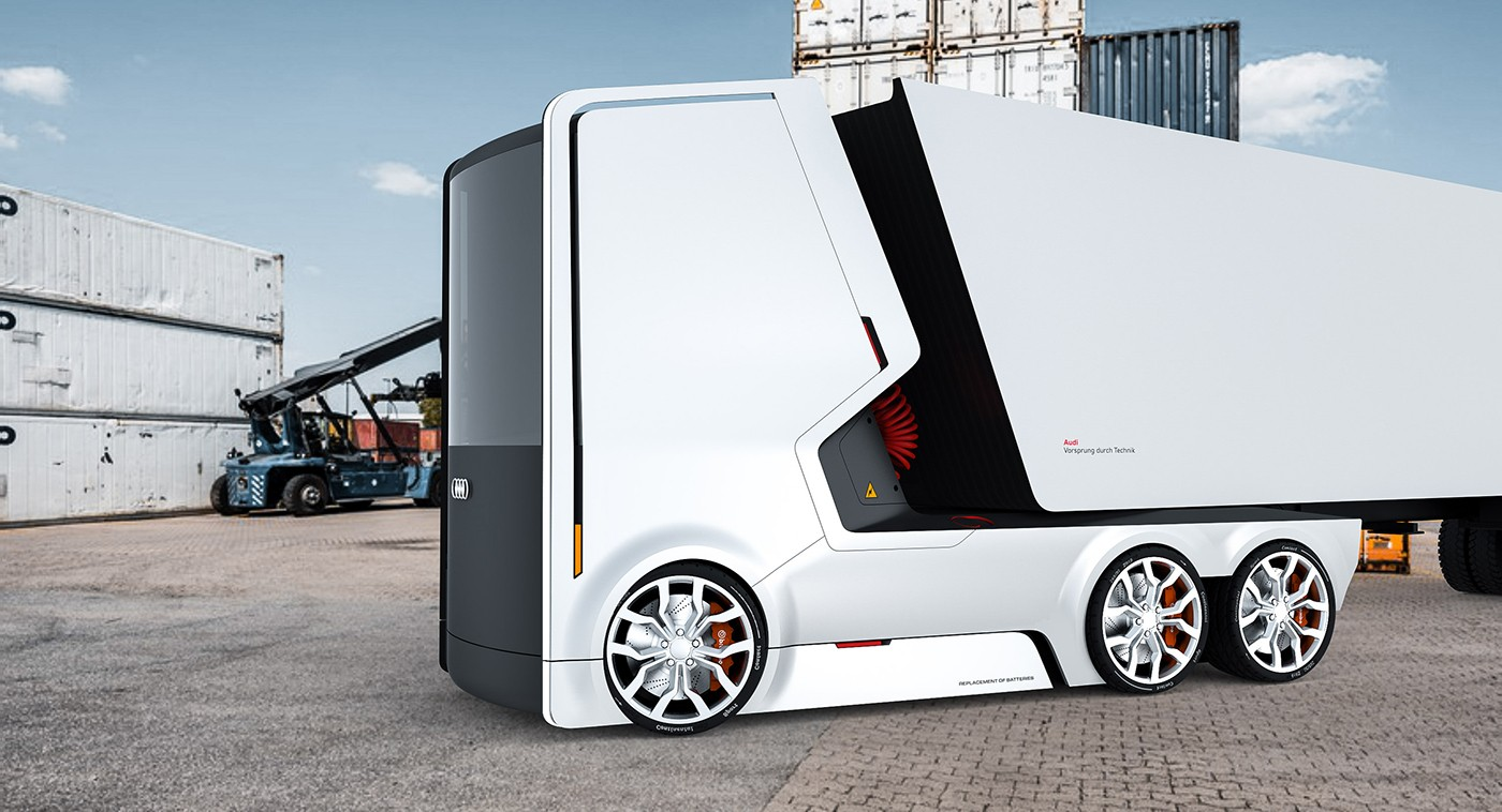 If Audi Did Trucks We Wish They Looked Like These Two Autoevolution - Audi truck