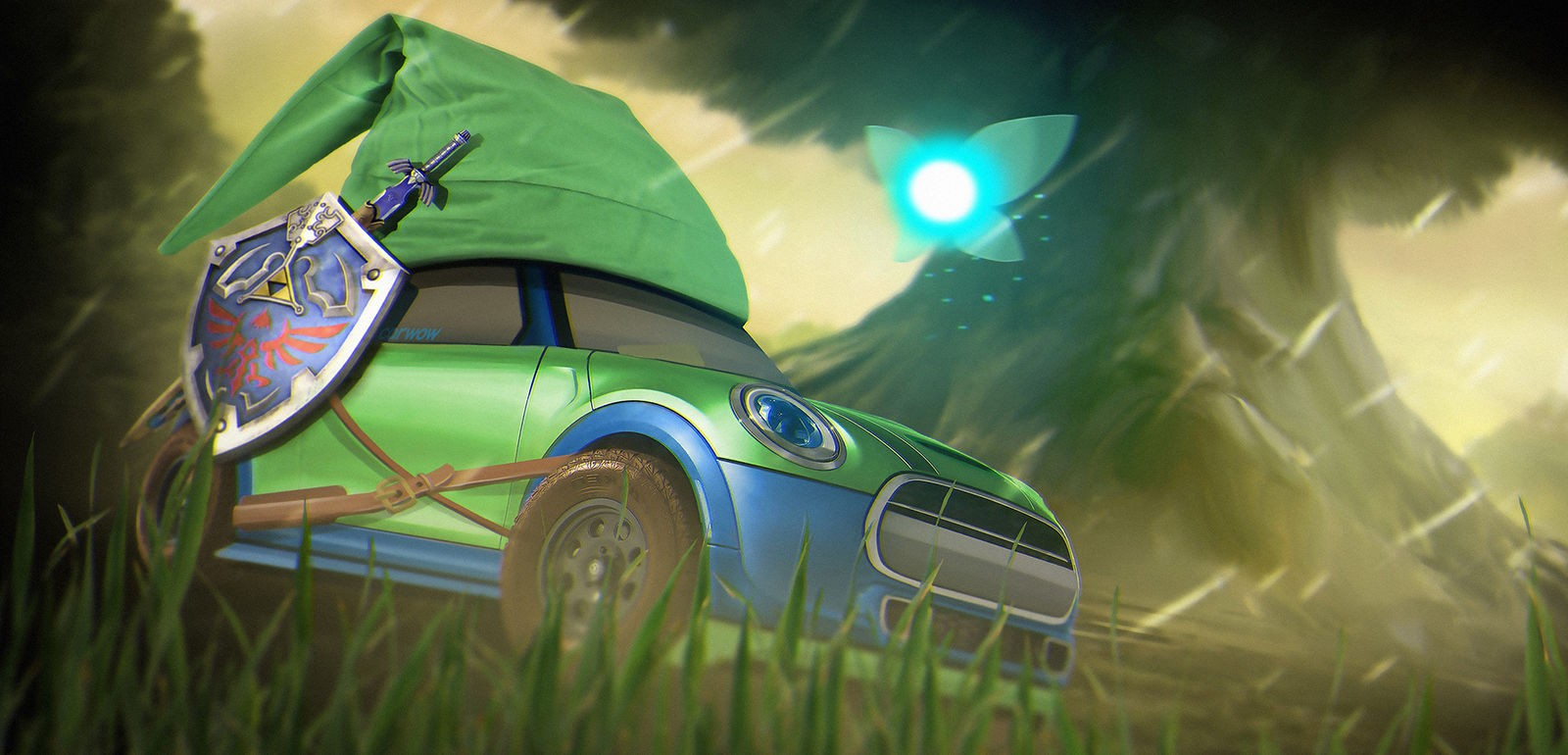 If Famous Video Games Were Cars They D Look Like This on 2012 Vw Beetle Convertible
