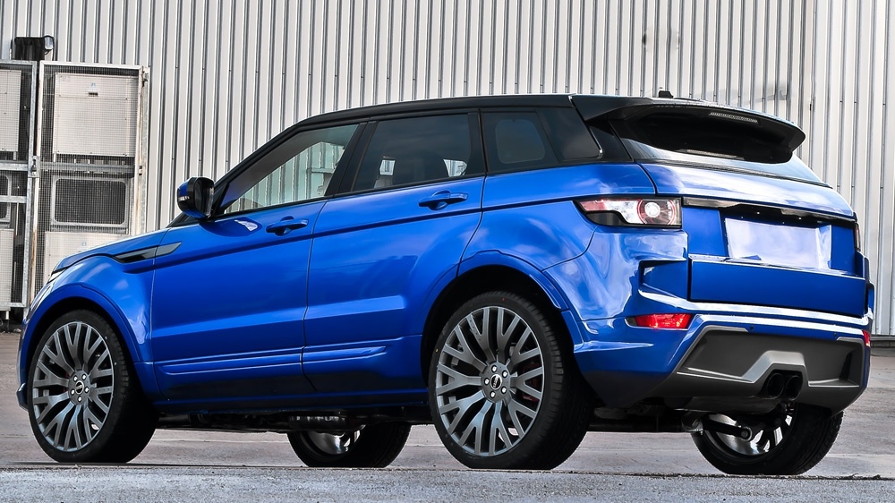 imperial blue range rover evoque by kahn design autoevolution. Black Bedroom Furniture Sets. Home Design Ideas
