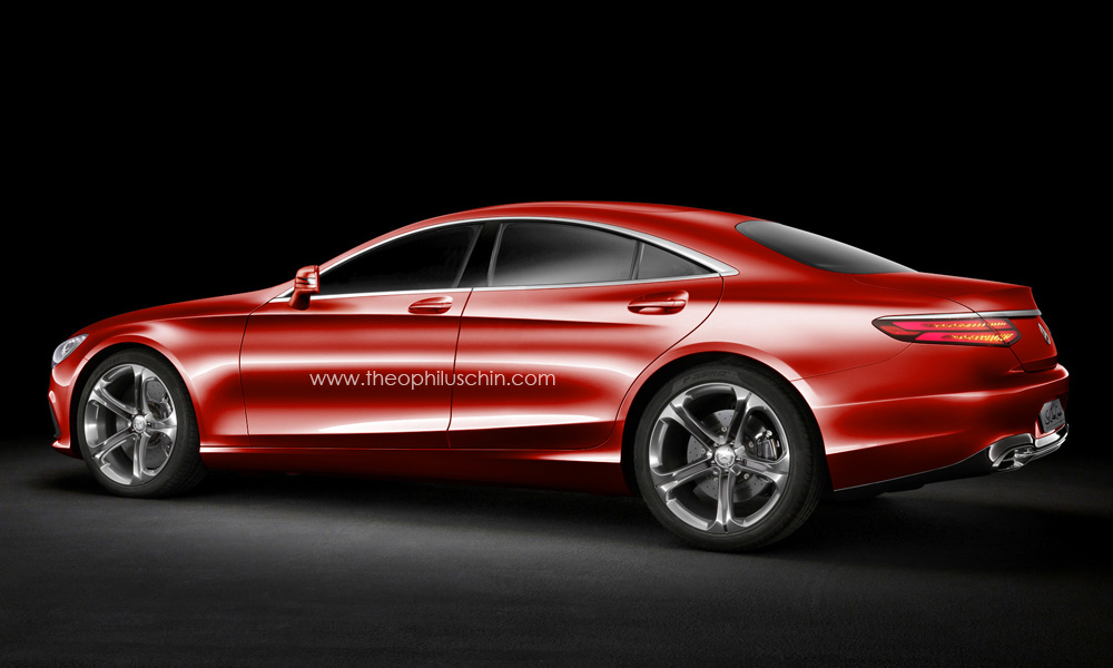 Improbable Four Door Version Of The S Class Coupe Looks Stunning Autoevolution