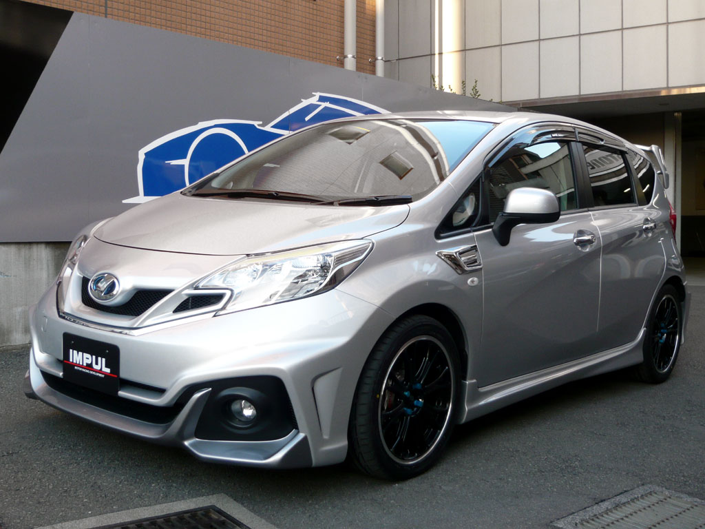 New Nissan Note Tuned By Impul In Japan Autoevolution