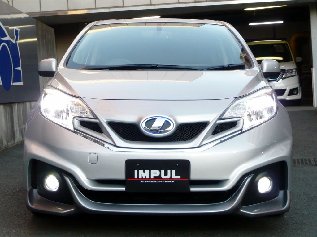New Nissan Note Tuned by Impul in Japan - autoevolution
