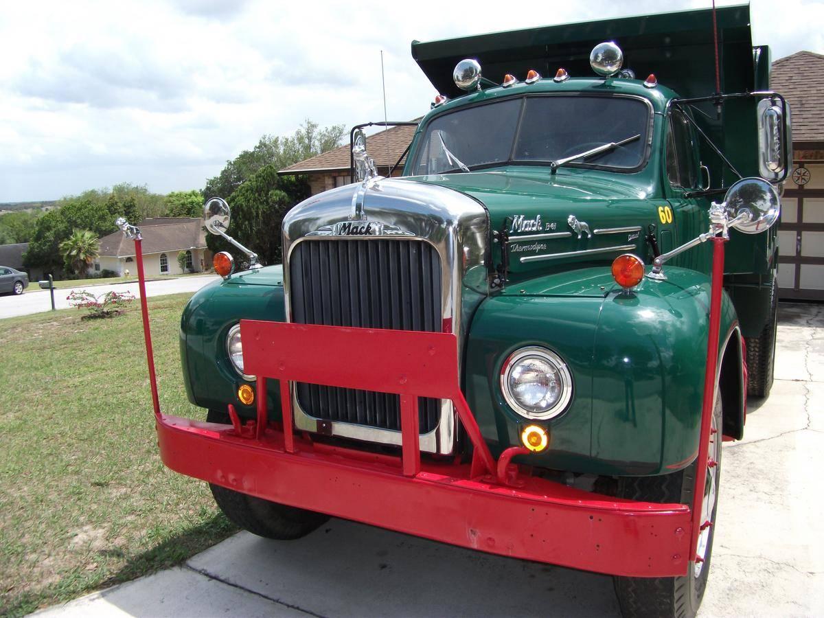 In For A Classy Cheap 1960 Mack B61 Dump Truck