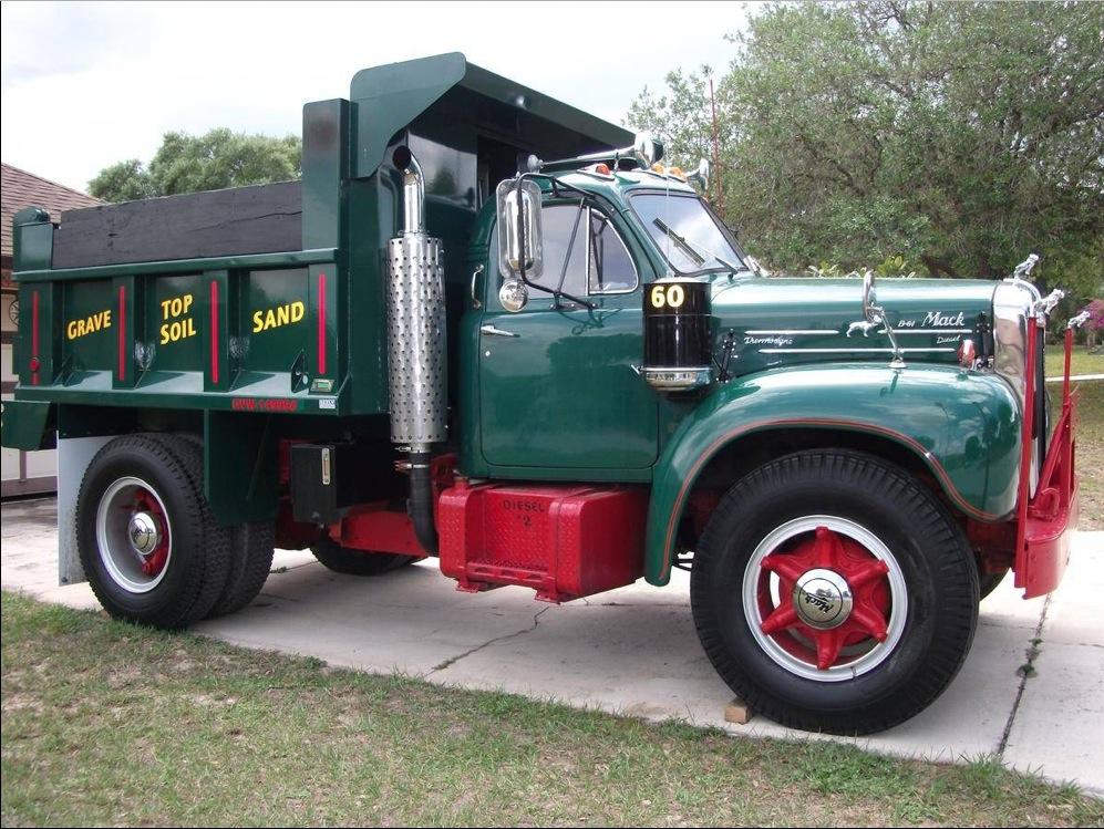 Mack Trucks B61 Models : In for a classy cheap mack b dump truck