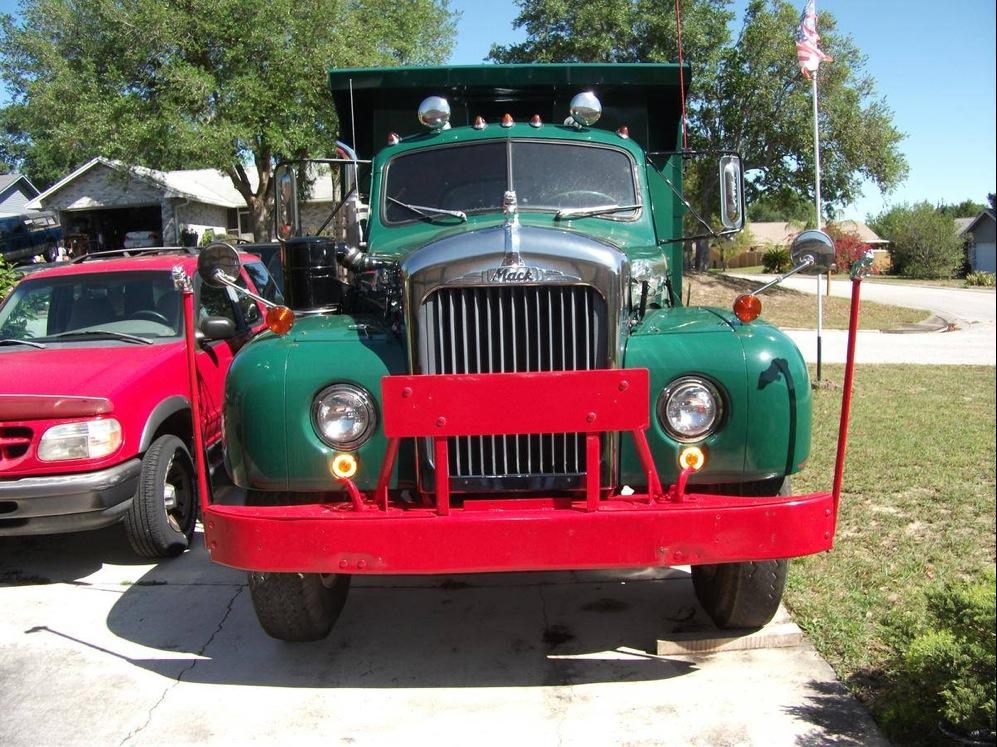 In for a Classy Cheap 1960 Mack B61 Dump Truck ...
