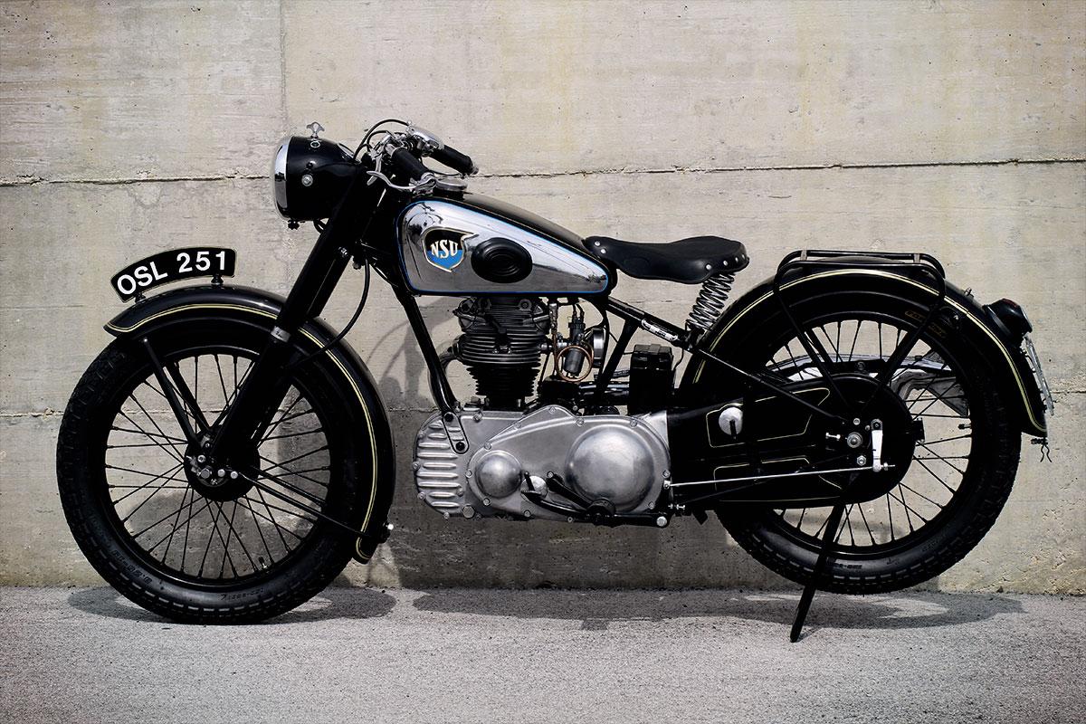Incredible Restoration For 1937 Nsu Osl 251 Bike