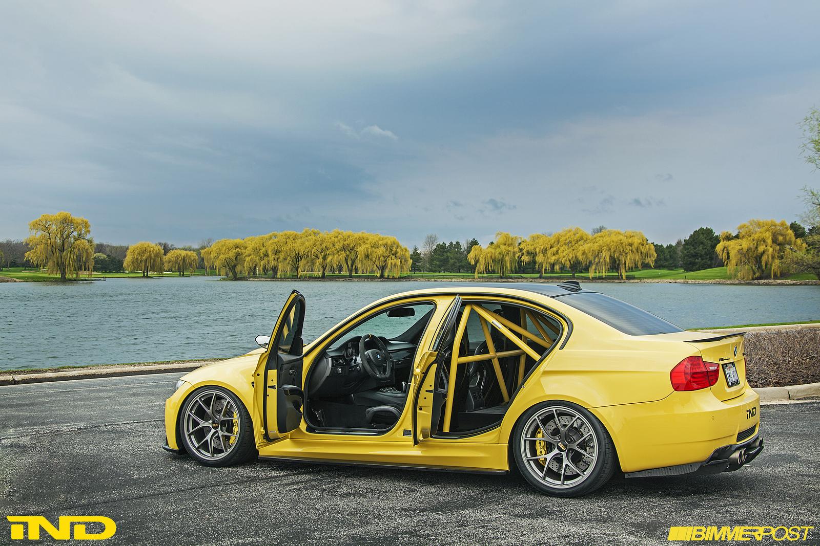 Ind Presents Dakar Yellow Bmw E90 M3 Autoevolution