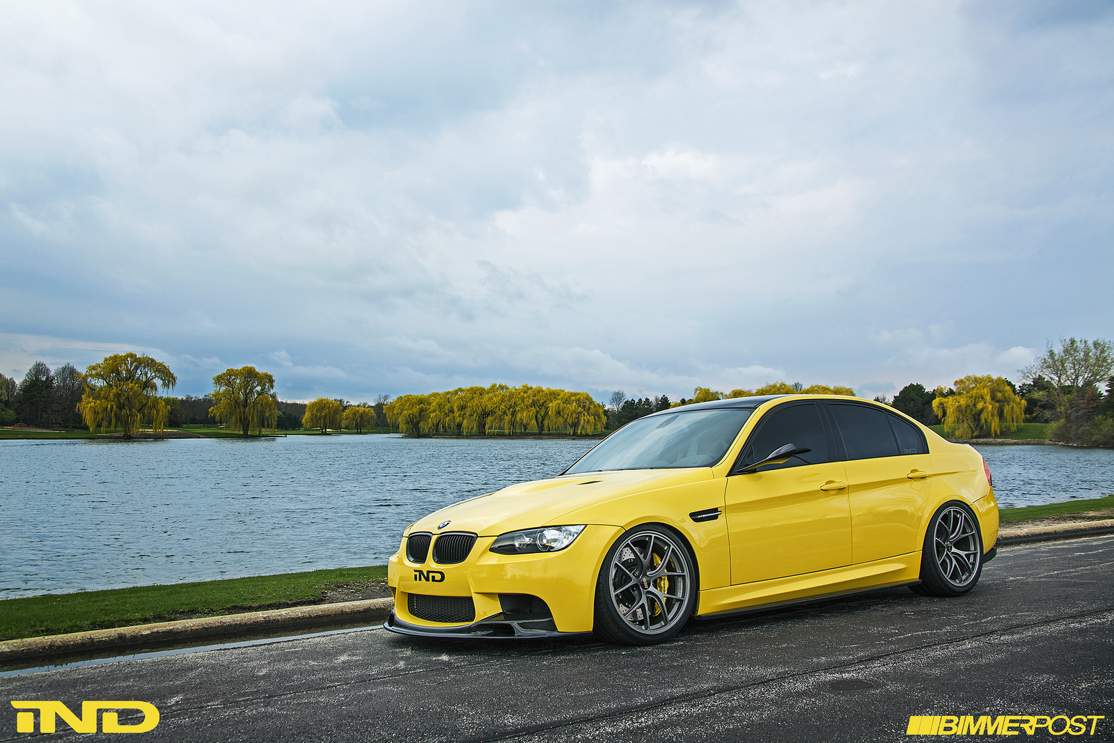 Ind Presents Dakar Yellow Bmw E90 M3 Autoevolution