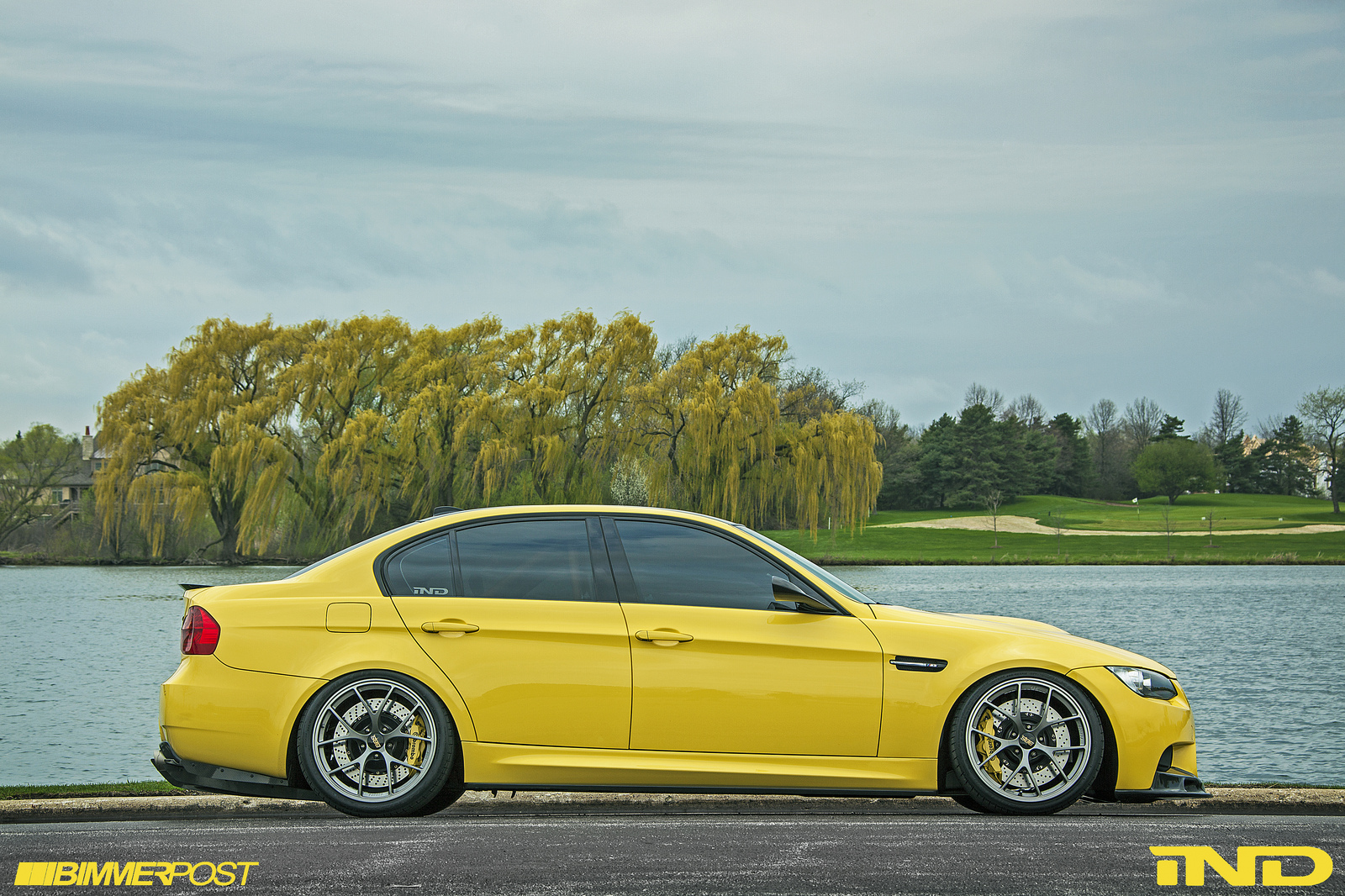 ind presents dakar yellow bmw e90 m3 autoevolution. Black Bedroom Furniture Sets. Home Design Ideas
