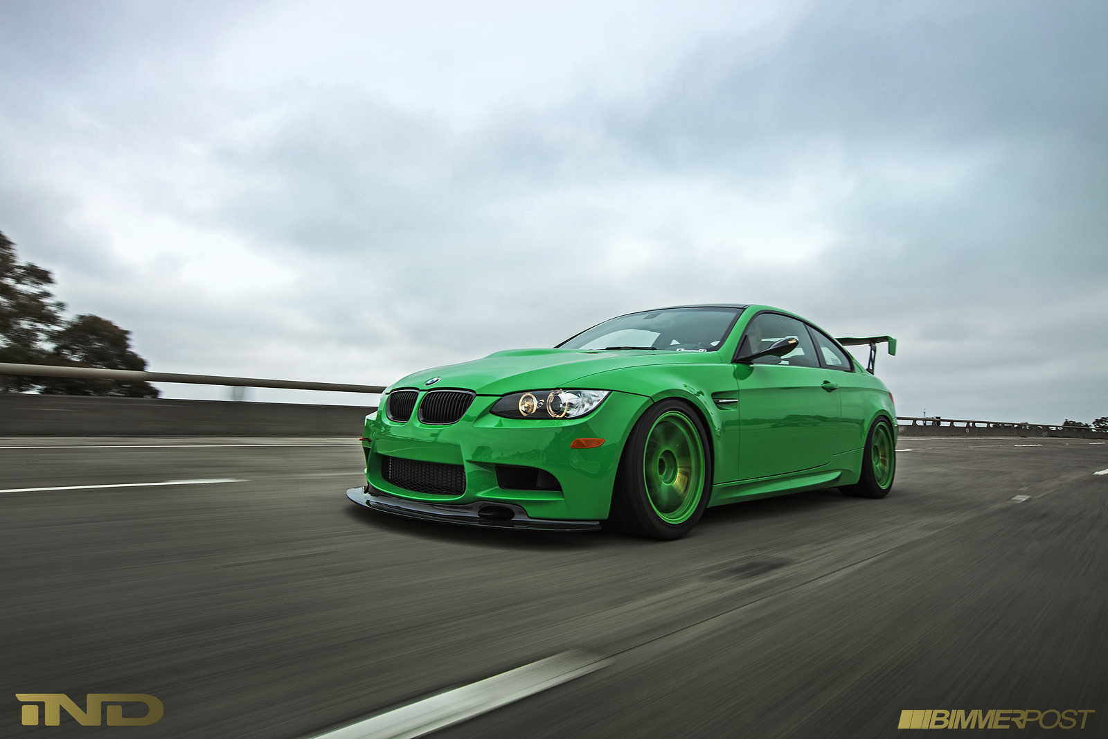 Ind S Signal Green Bmw E92 M3 Tells A Story Autoevolution