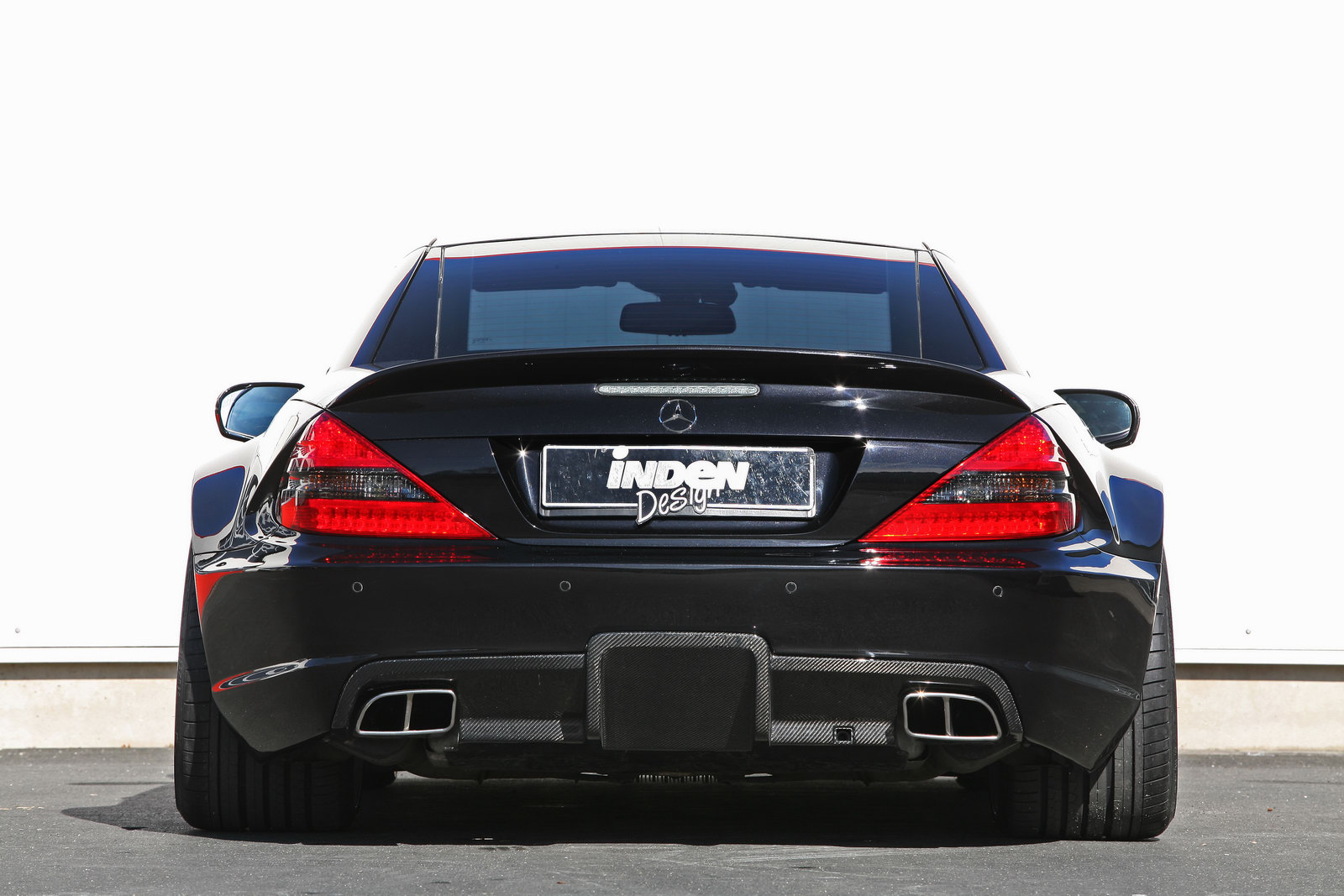 Inden Design Releases Black Series Kit For The Mercedes Sl65 Amg Autoevolution
