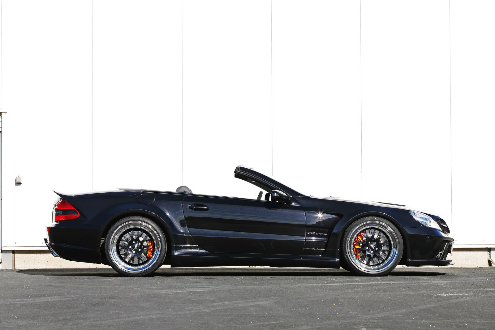 Inden Design Releases Black Series Kit For The Mercedes Sl65 Amg Autoevolution