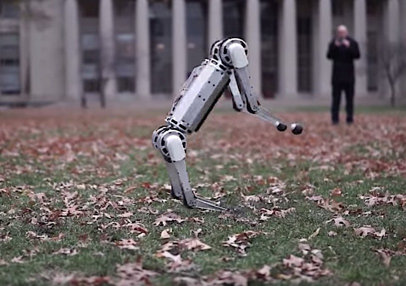 MIT's new Mini Cheetah robot can now do backflips