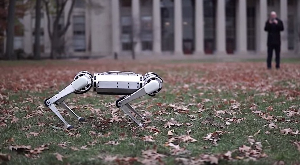 MIT researchers create the first four-legged robot to perform a backflip