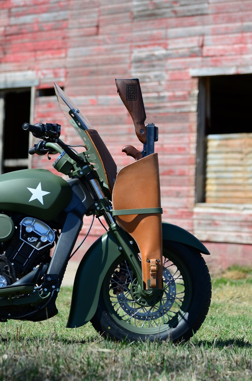 21 Century Auto >> Indian Custom Military Scout, the Debut Bike of a Custom ...