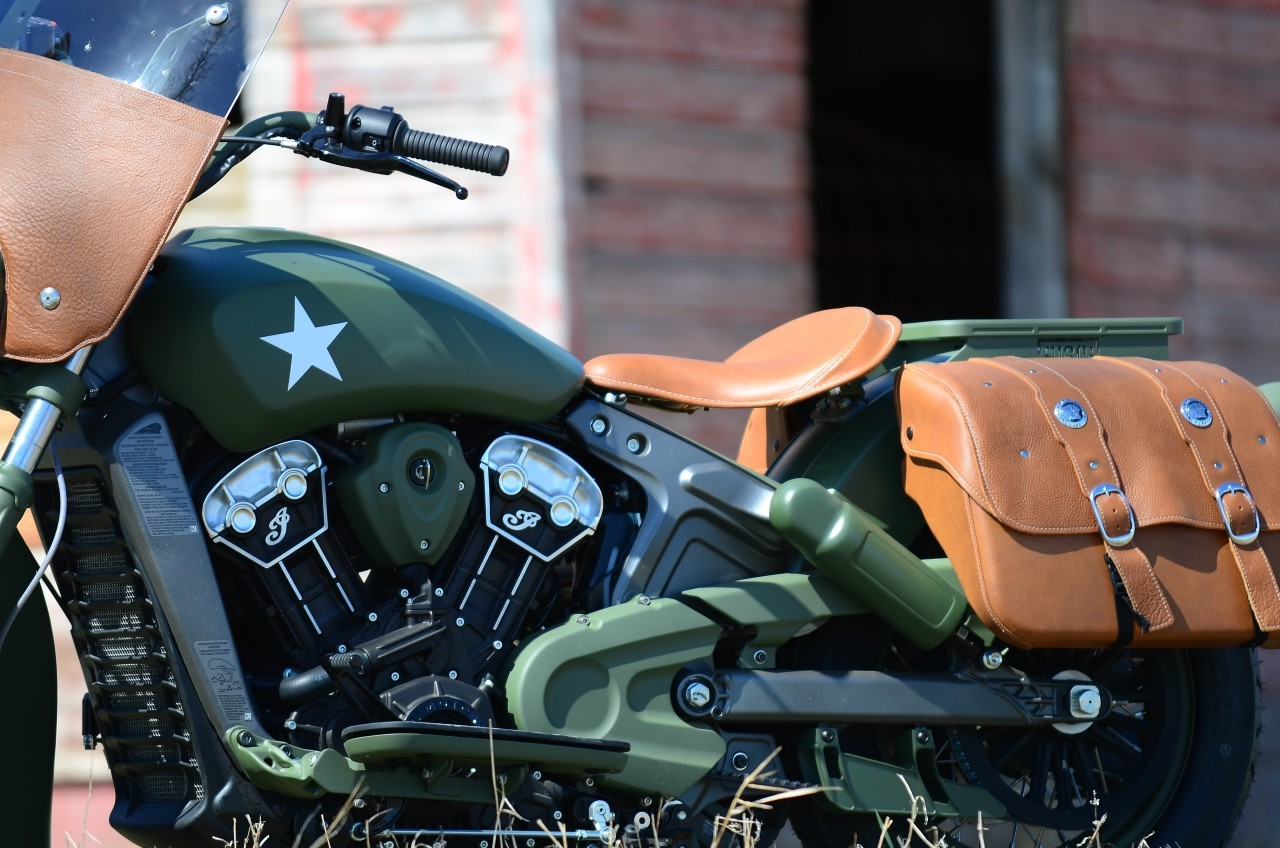 21 Century Auto >> Indian Custom Military Scout, the Debut Bike of a Custom Series, with Mark Wahlberg - autoevolution