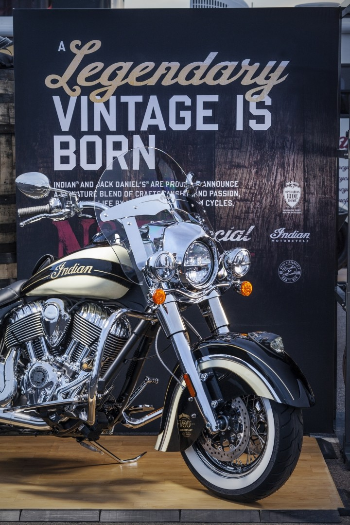 Indian Chief Vintage >> Indian Motorcycle Limited Edition Jack Daniel's Chief Vintage - autoevolution