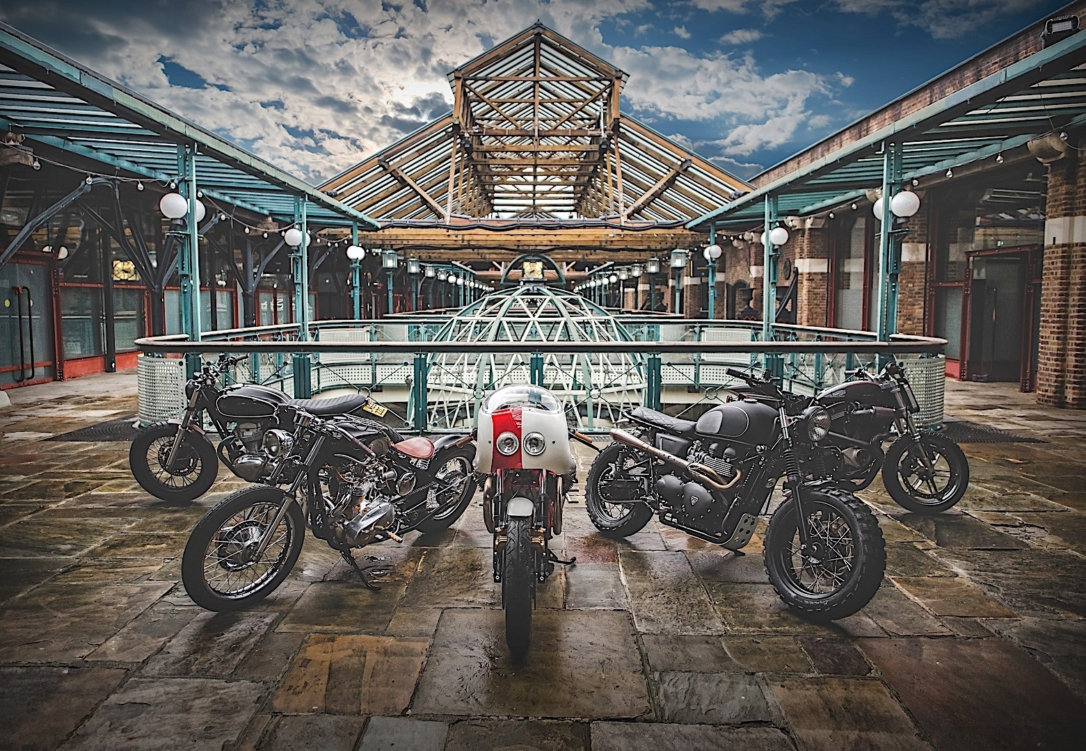 Indian Motorcycle Supports The Bike Shed London 2017