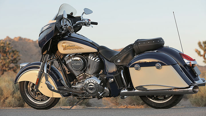 Indian Reveals 2015 Two-Tone Graphics Option for the Chief ...