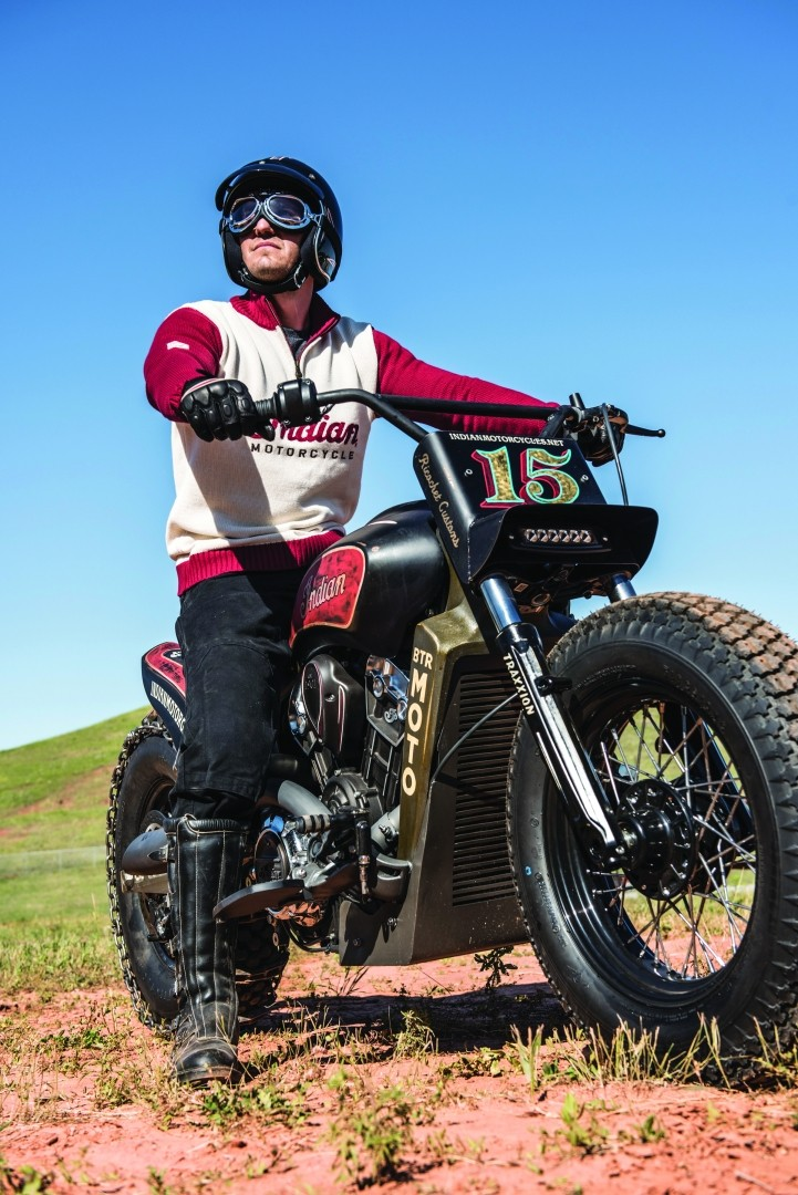 Indian Scout Black Hills Beast