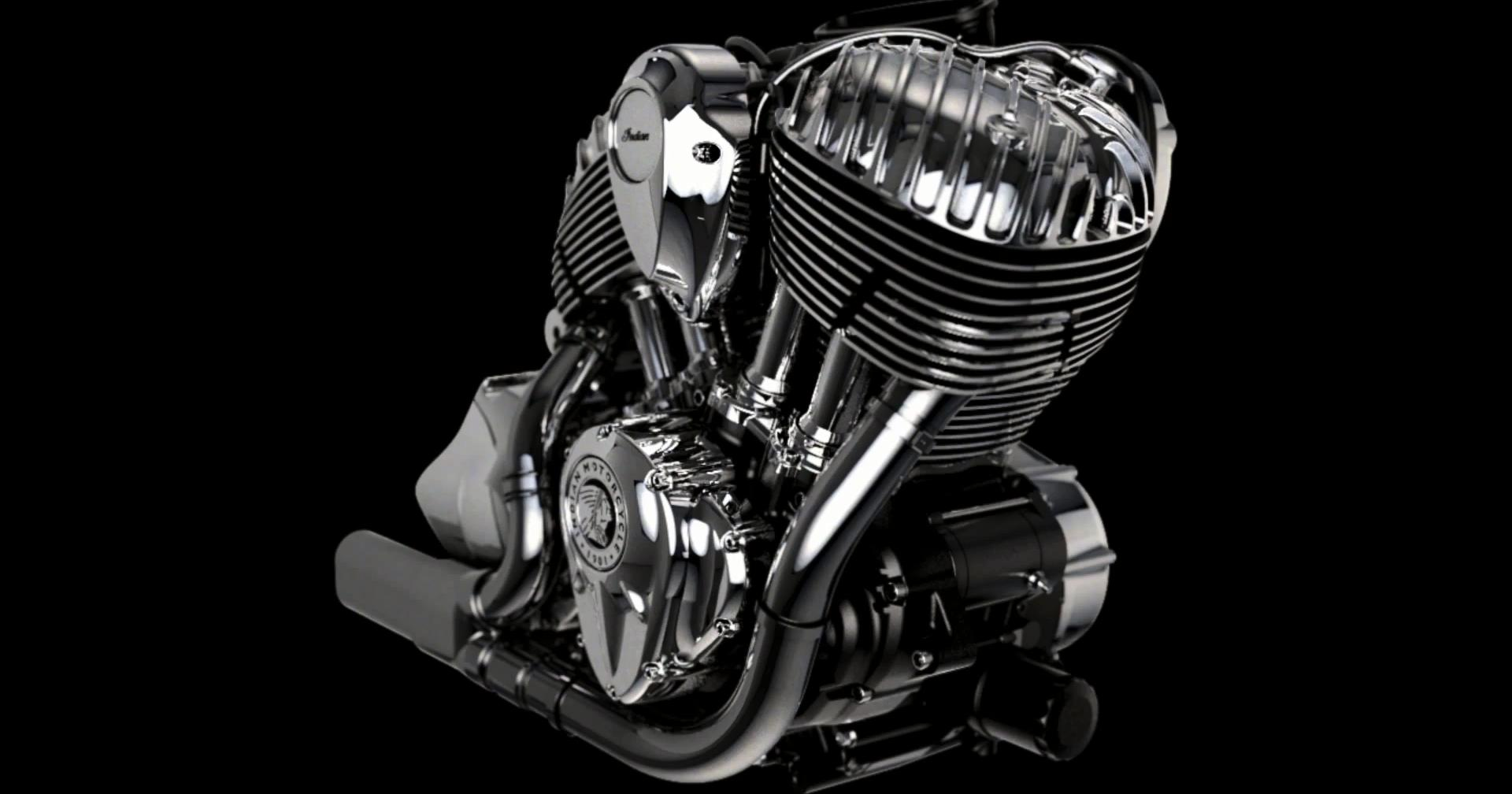 Indian Thunder Stroke 111 Engine Looks Great  Sounds Even Better