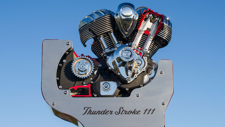 Indian Thunder Stroke 111 Engine Looks Great Sounds Even