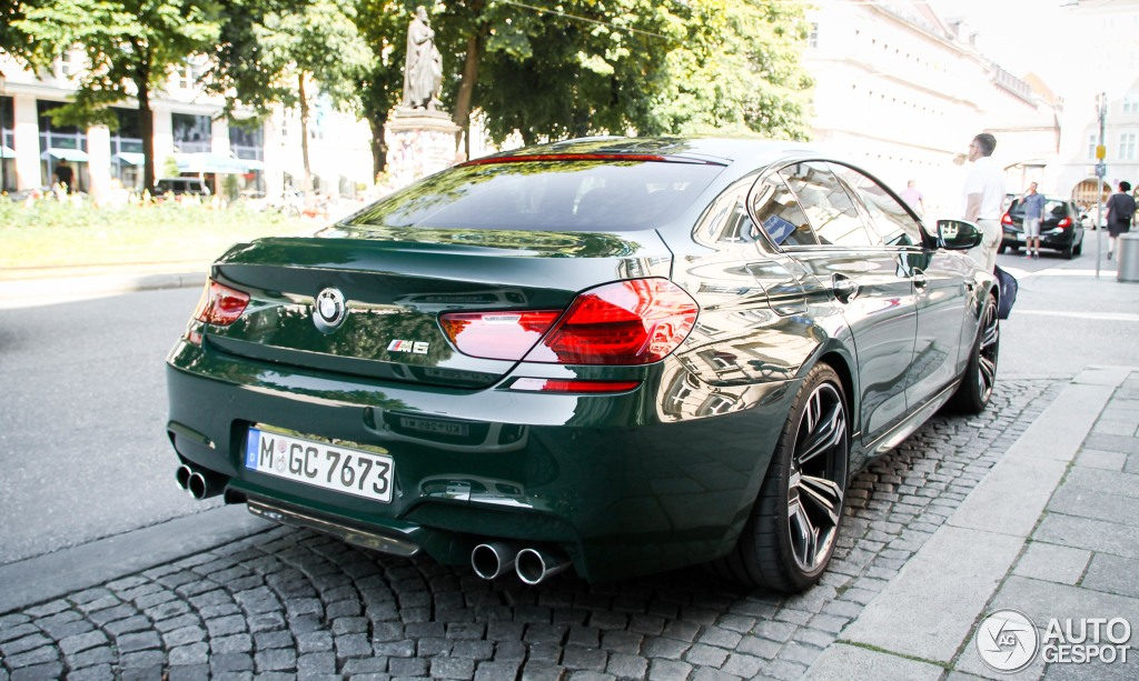 British Racing Green 2020 Bmw M5