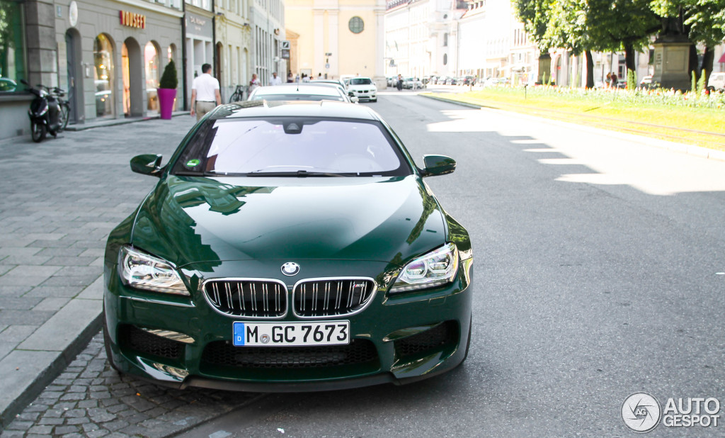 Individual Bmw M6 Gran Coupe Stuns With Its British Racing