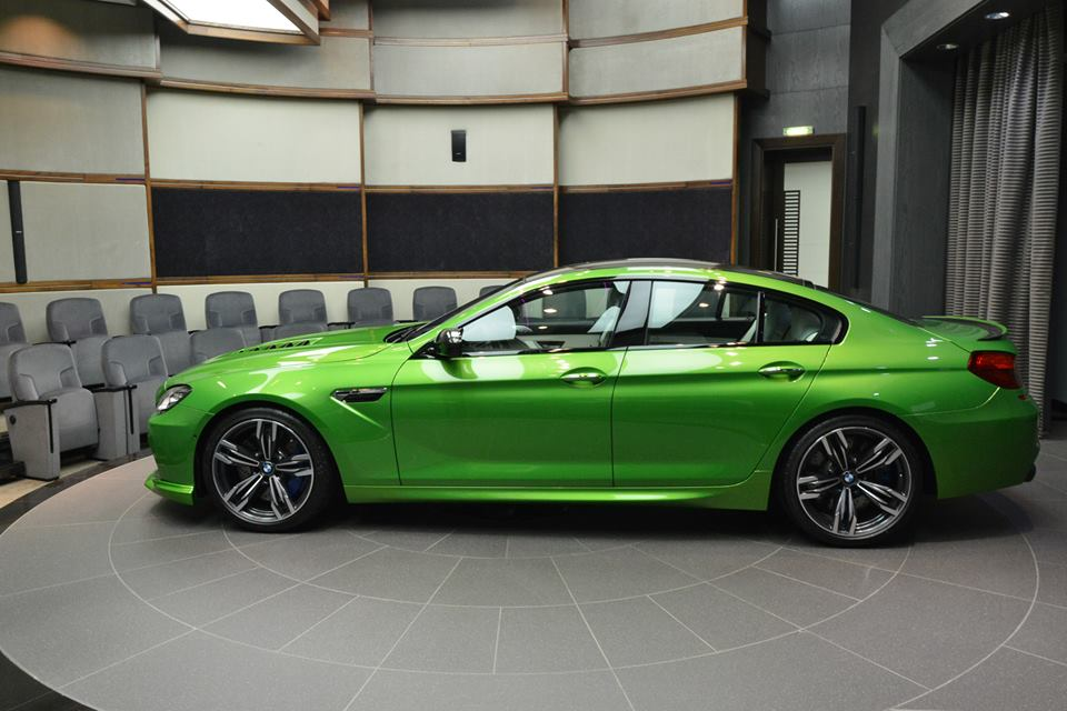 Individual Java Green Bmw M6 Gran Coupe Will Blow Your