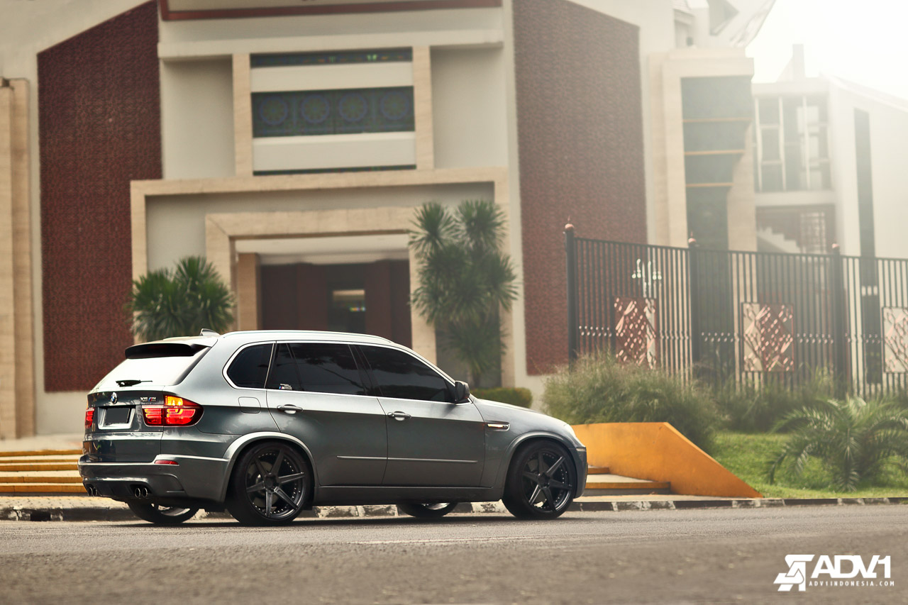 Indonesian Bmw X5 M Rides On Adv 1 Wheels Autoevolution