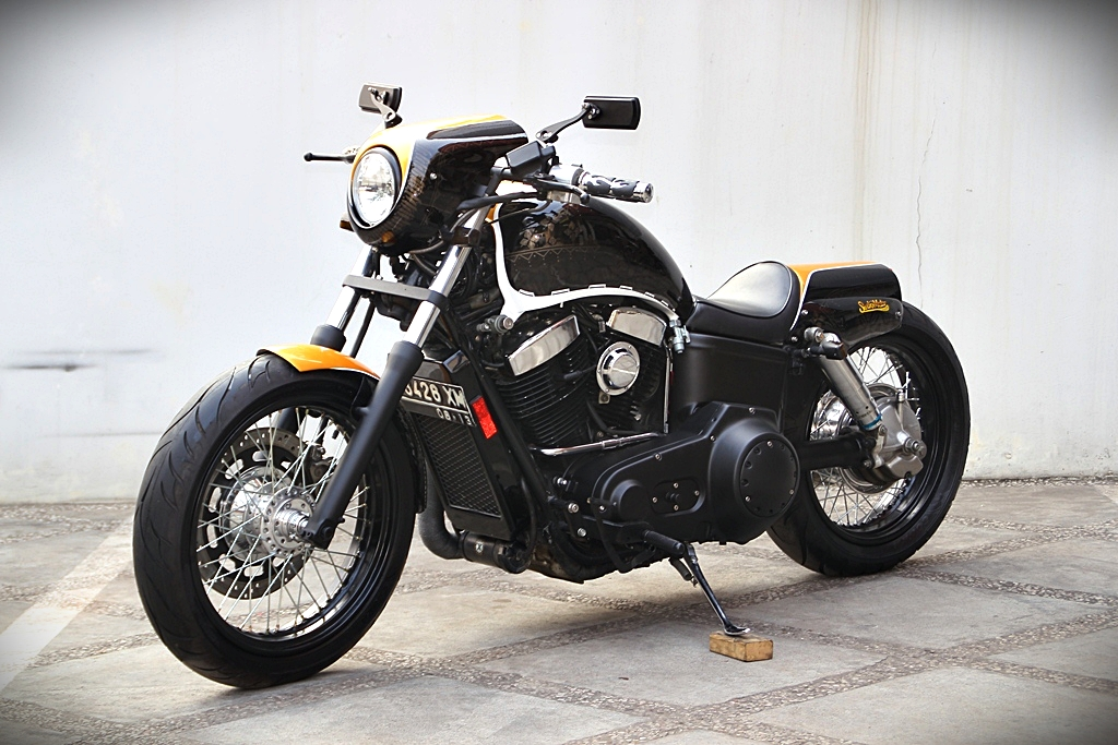 Million Dollar Car >> Indonesian Studio Motor Insanely Cool Honda Shadow 1100 ...
