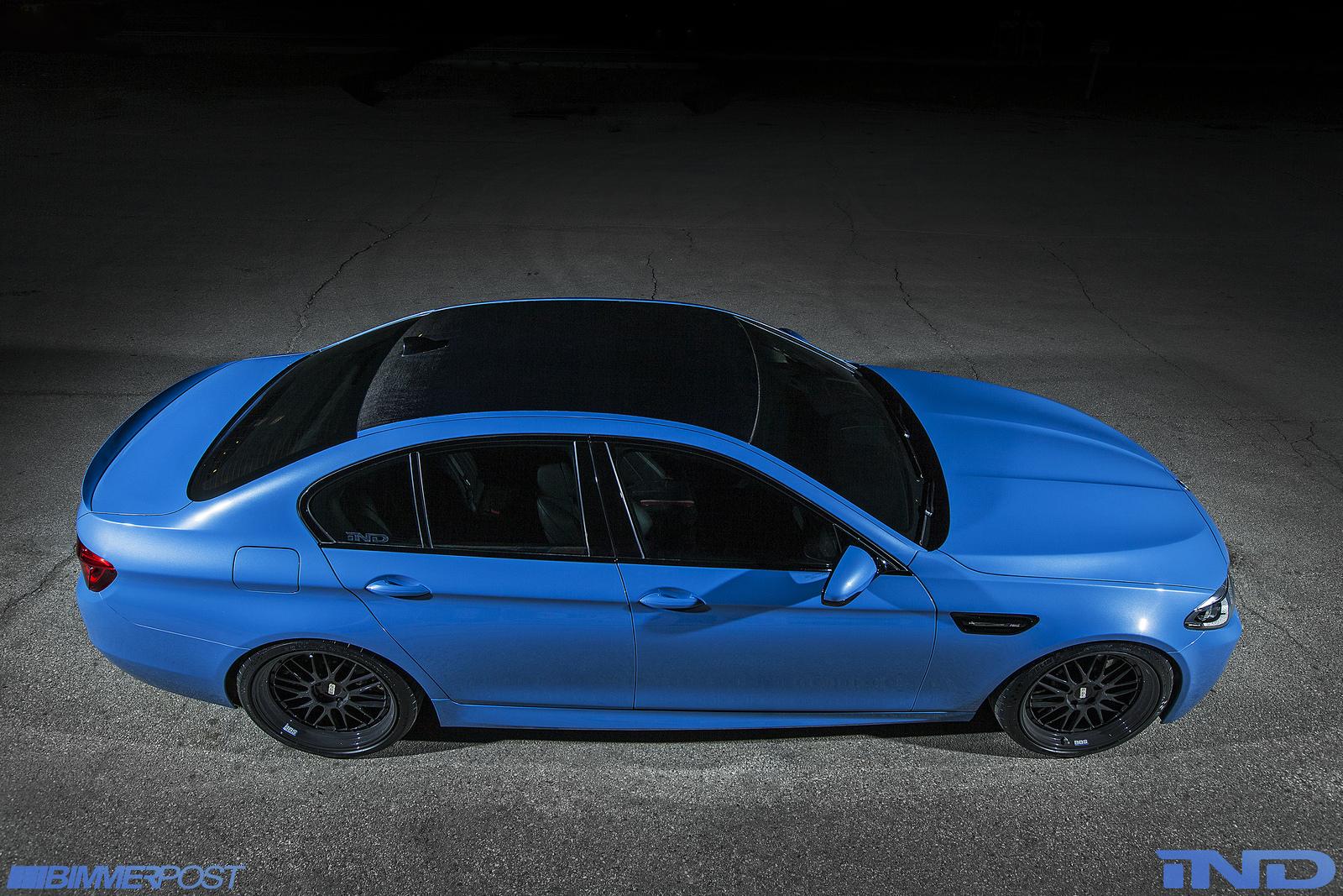 Bmw M5 F10 >> iND's BMW F10 M5 is a Yas Marina Blue Wonder - autoevolution