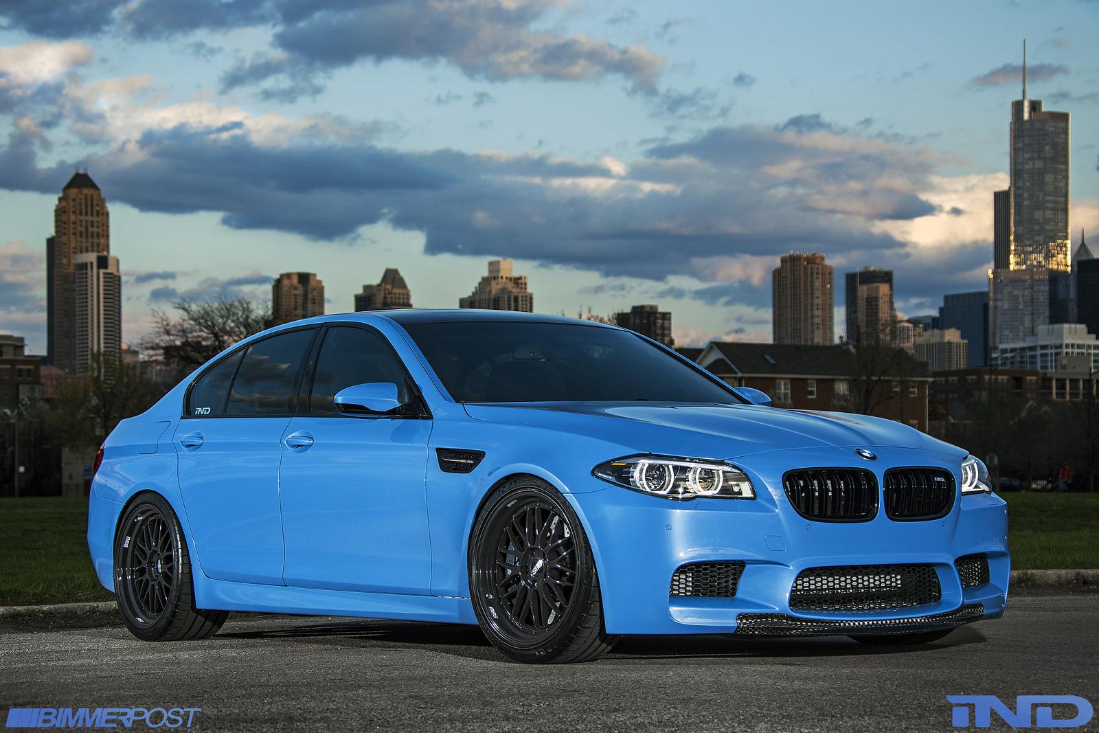 ... Yas Marina Blue BMW F10 M5 ...