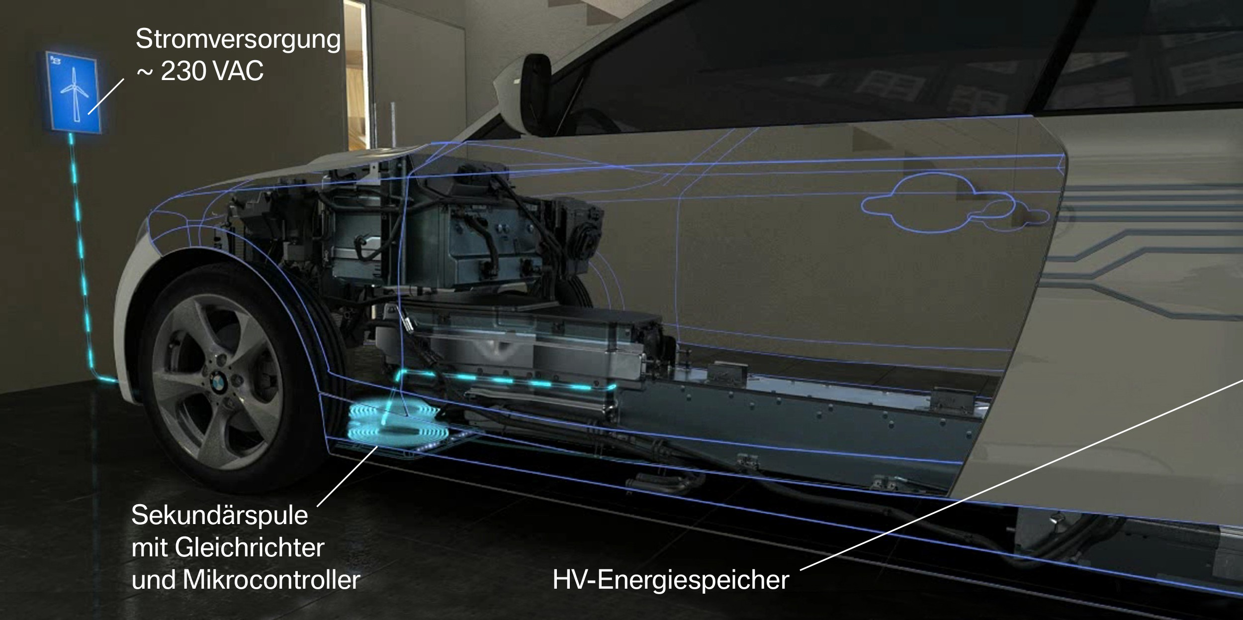Inductive Wireless Charging From Bmw Previewed At 2015 Ces