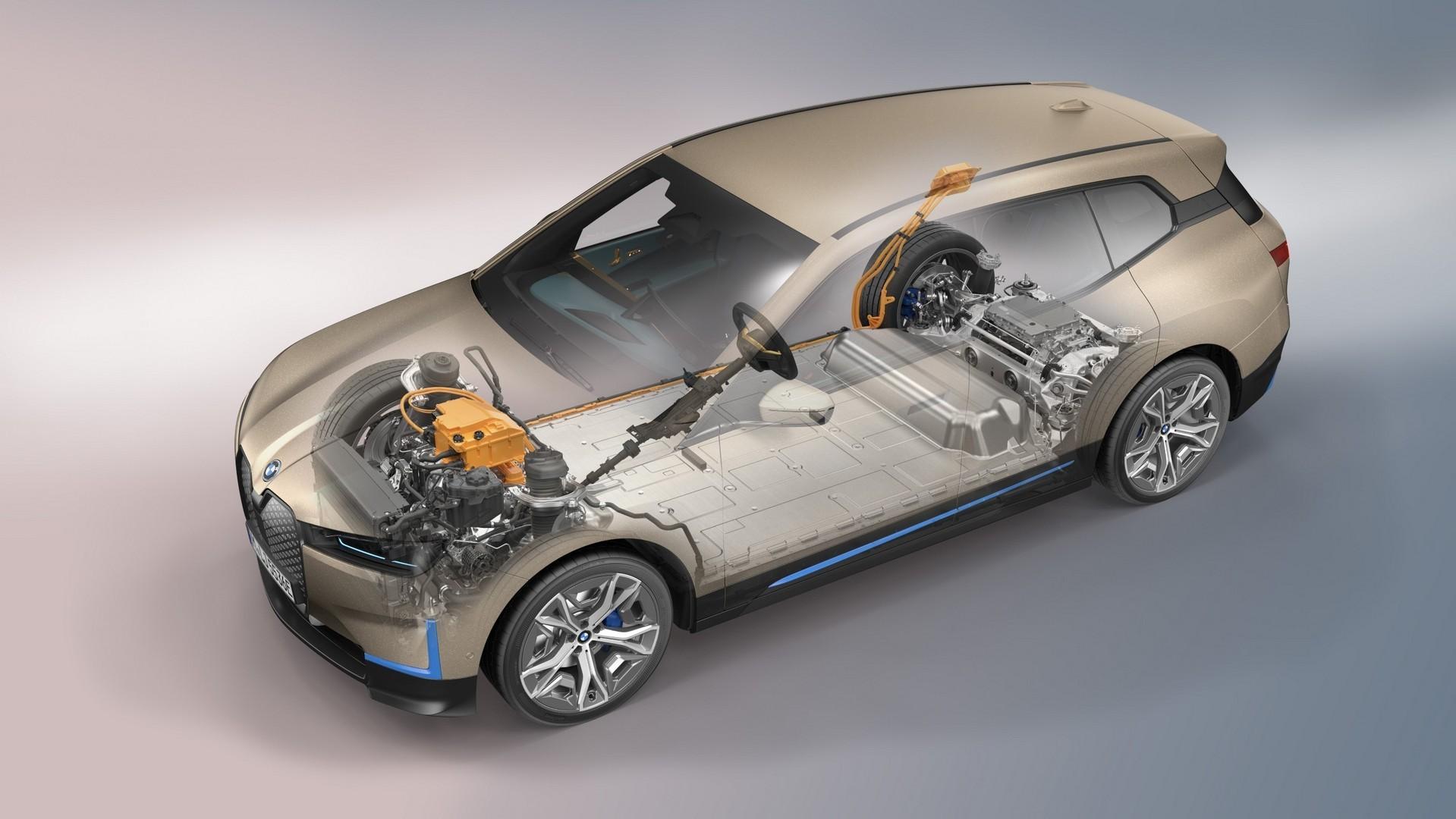BMW's new iX arrives as firm's flagship EV