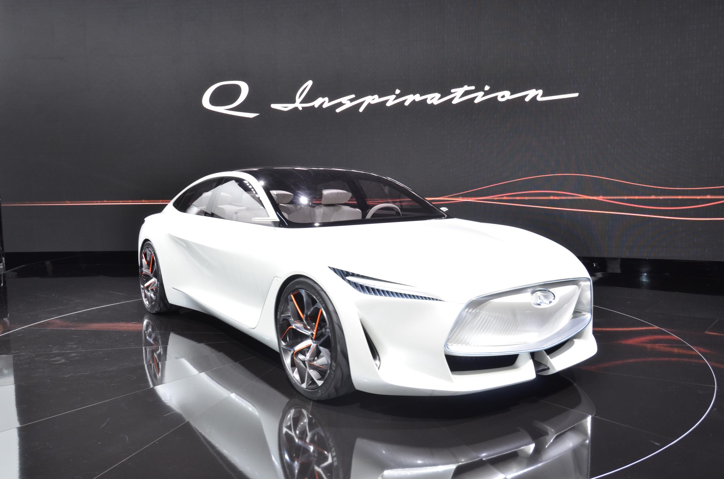 Infiniti Electrified Performance Concept Car to Show at Pebble Beach - autoevolution
