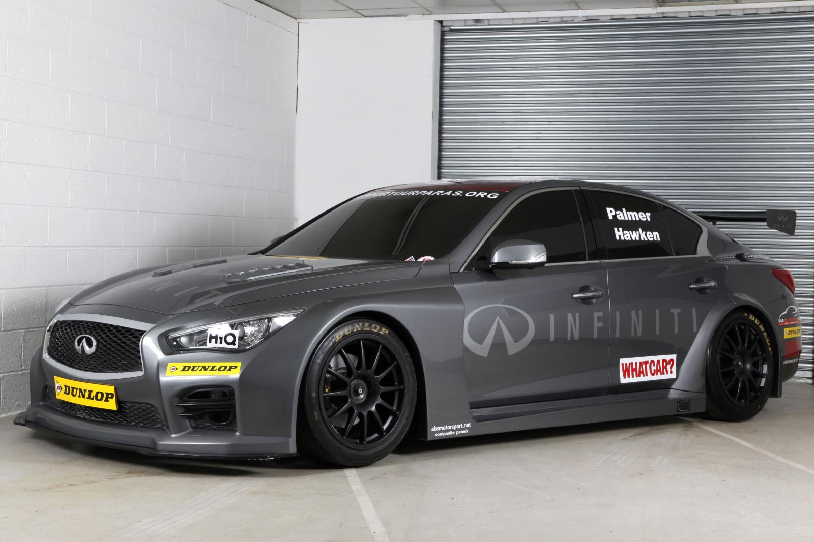 Infiniti Enters 2015 Btcc With Q50 Sedan And Charitable