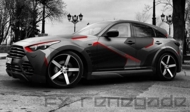 Infiniti Fx Renegade A Cool Suv That Drives Russian Girls