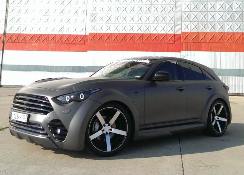 Infiniti Fx Renegade A Cool Suv That Drives Russian Girls Crazy Video Photo Gallery