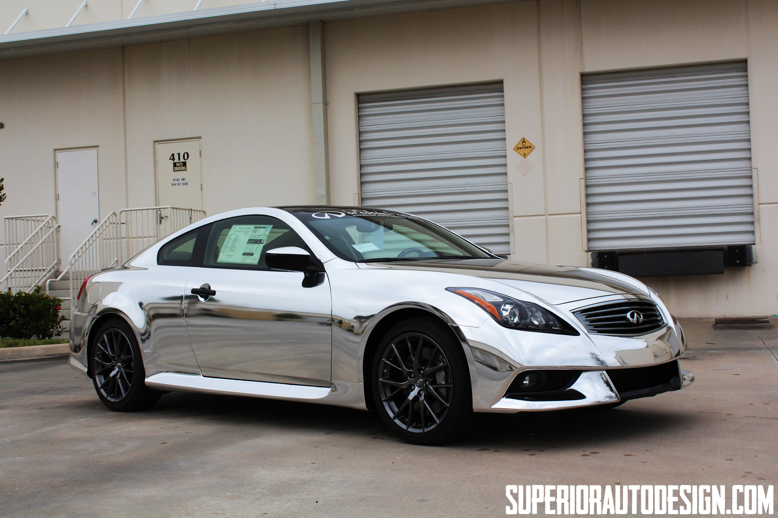 Infiniti G37 Ipl Chrome Wrap Autoevolution